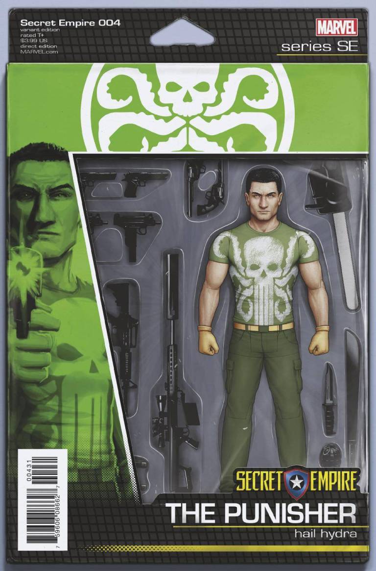 Secret Empire #4 (Cover F John Tyler Christopher Action Figure Variant)