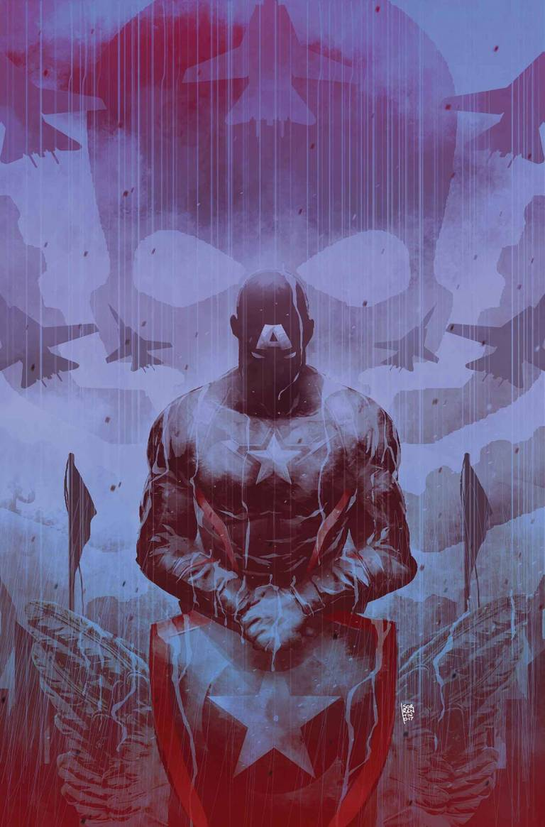 Secret Empire #5 (Cover C Andrea Sorrentino Hydra Hero Variant)