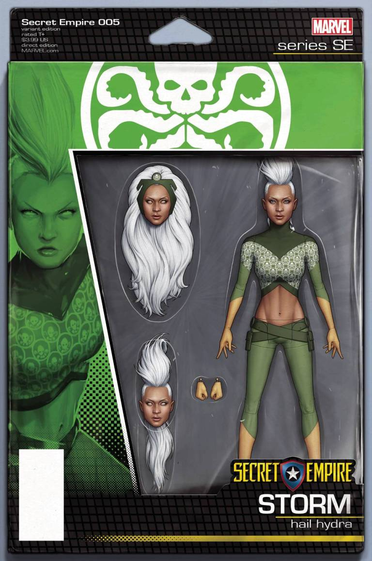 Secret Empire #5 (Cover F John Tyler Christopher Action Figure Variant)