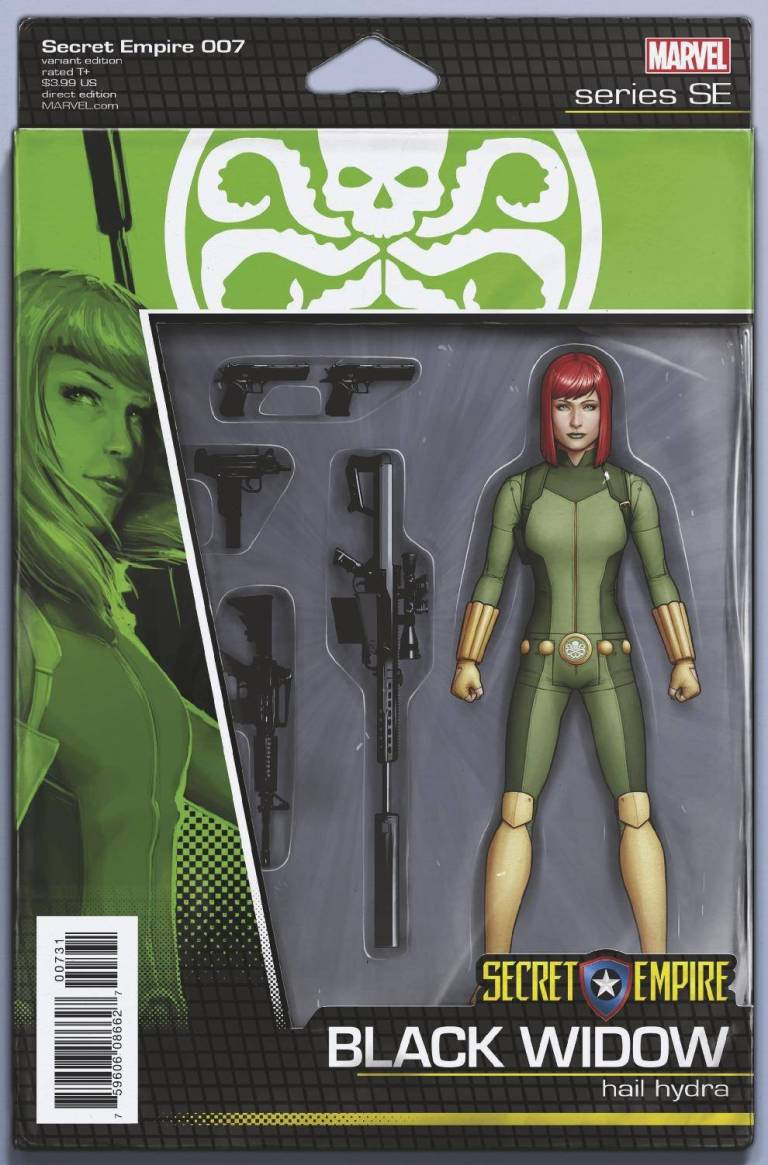 Secret Empire #7 (Cover F John Tyler Christopher Action Figure Variant)