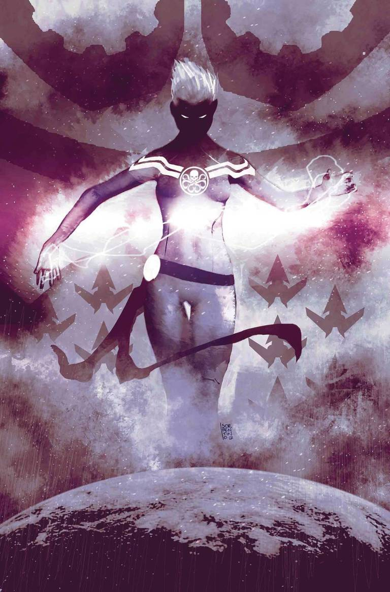 Secret Empire #8 (Cover D Andrea Sorrentino Hydra Heroes Variant)