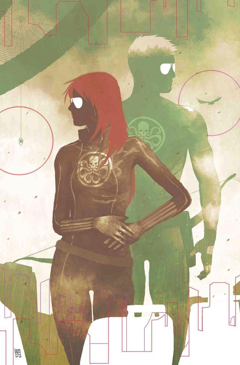 Secret Empire #9 (Cover D Andrea Sorrentino Hydra Heroes Variant)