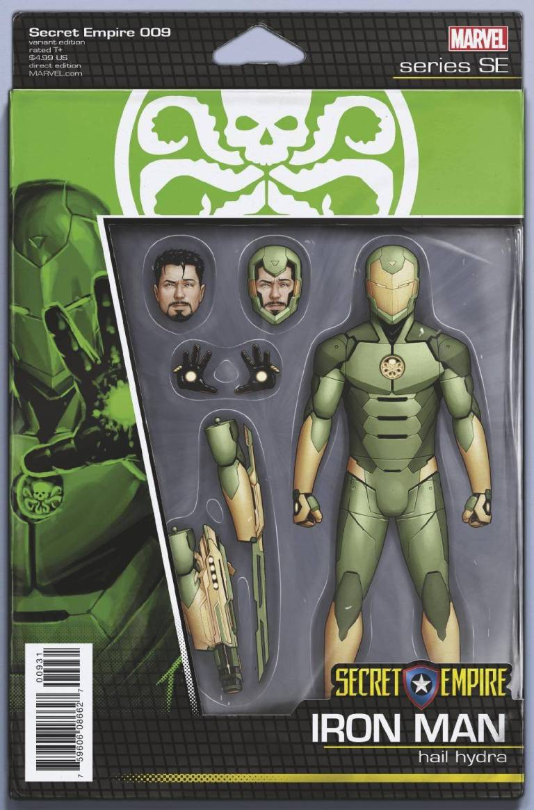 Secret Empire #9 (Cover E John Tyler Christopher Action Figure Variant)