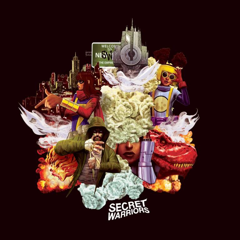 Secret Warriors #1 (Cover D Marco D'Alfonso Hip-Hop Variant)