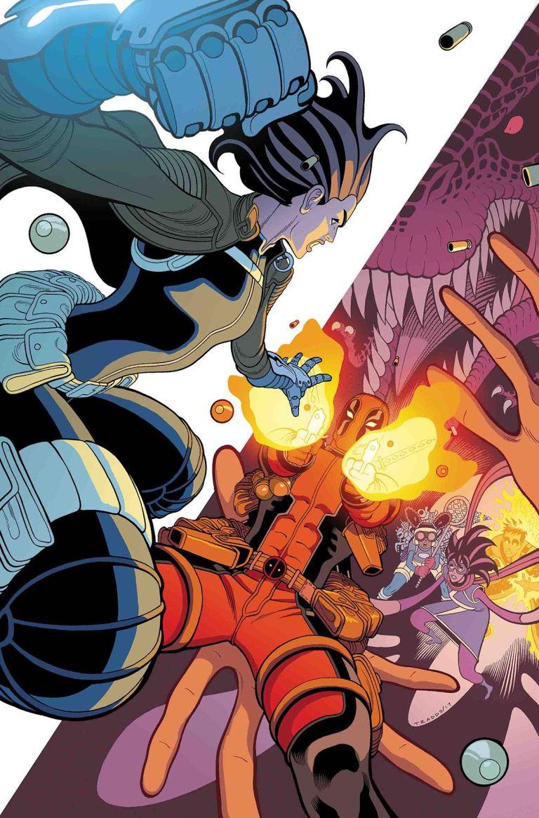 Secret Warriors #6 (Tradd Moore Cover)
