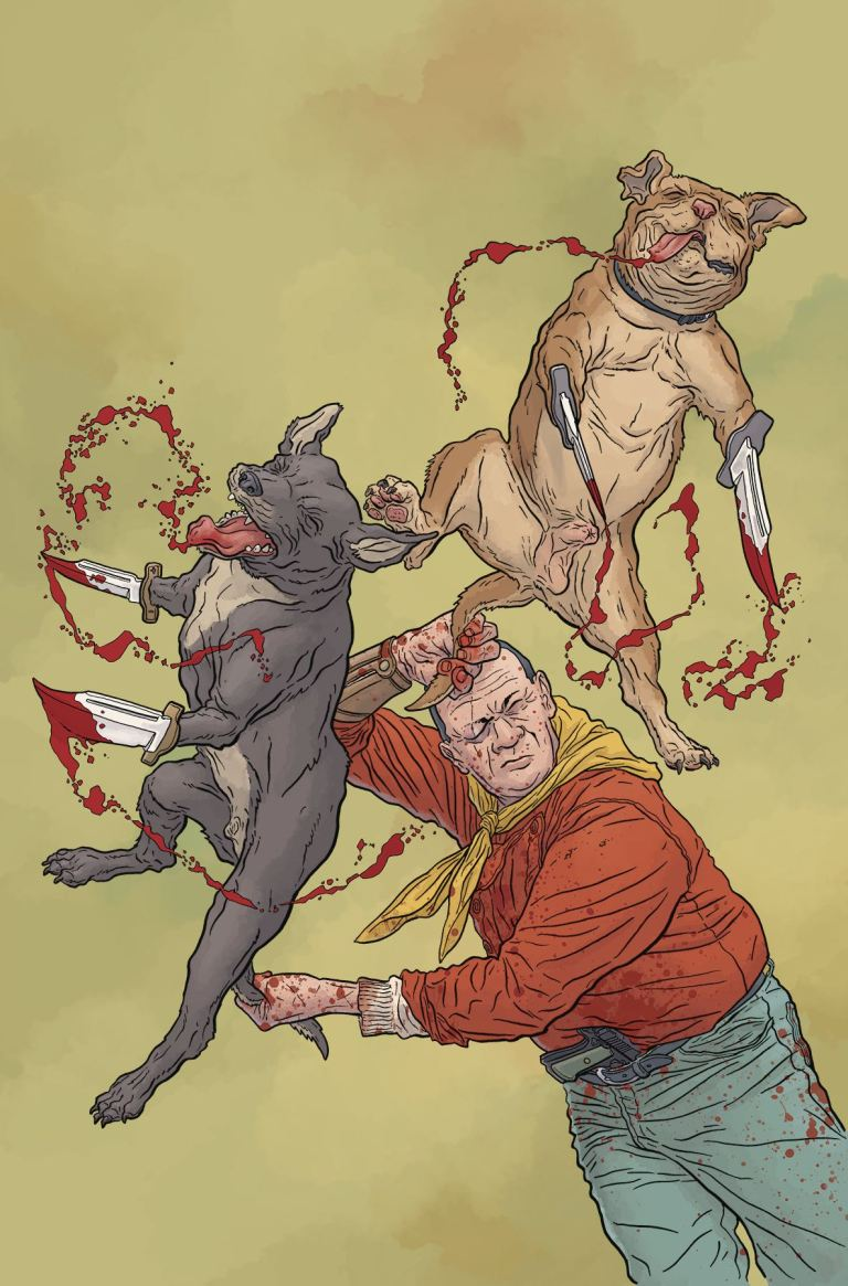 Shaolin Cowboy Who'll Stop The Reign #4 (Cover A Geof Darrow)