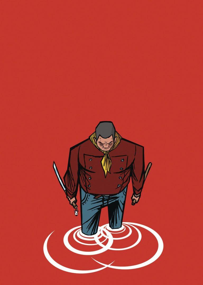 Shaolin Cowboy Who'll Stop The Reign #4 (Cover B Genndy Tartakovsky)