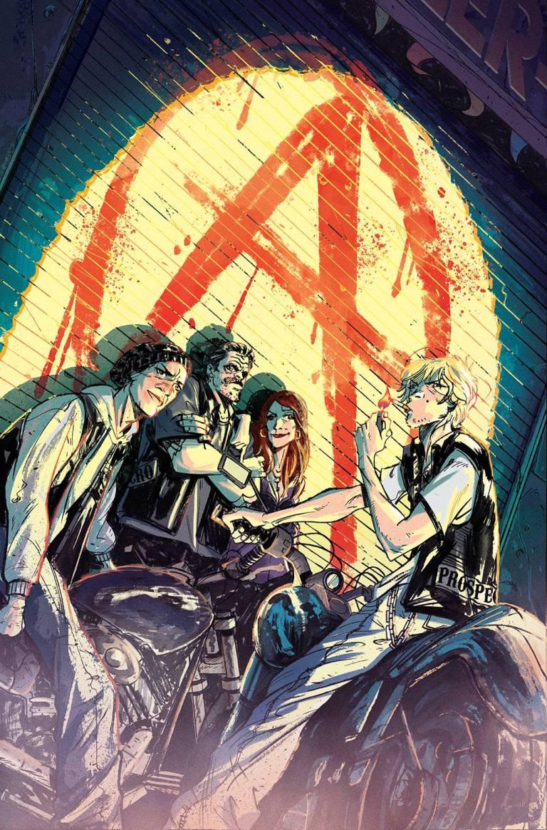 Sons Of Anarchy Redwood Original #1 (Cover B Ricardo Lopez Ortiz)