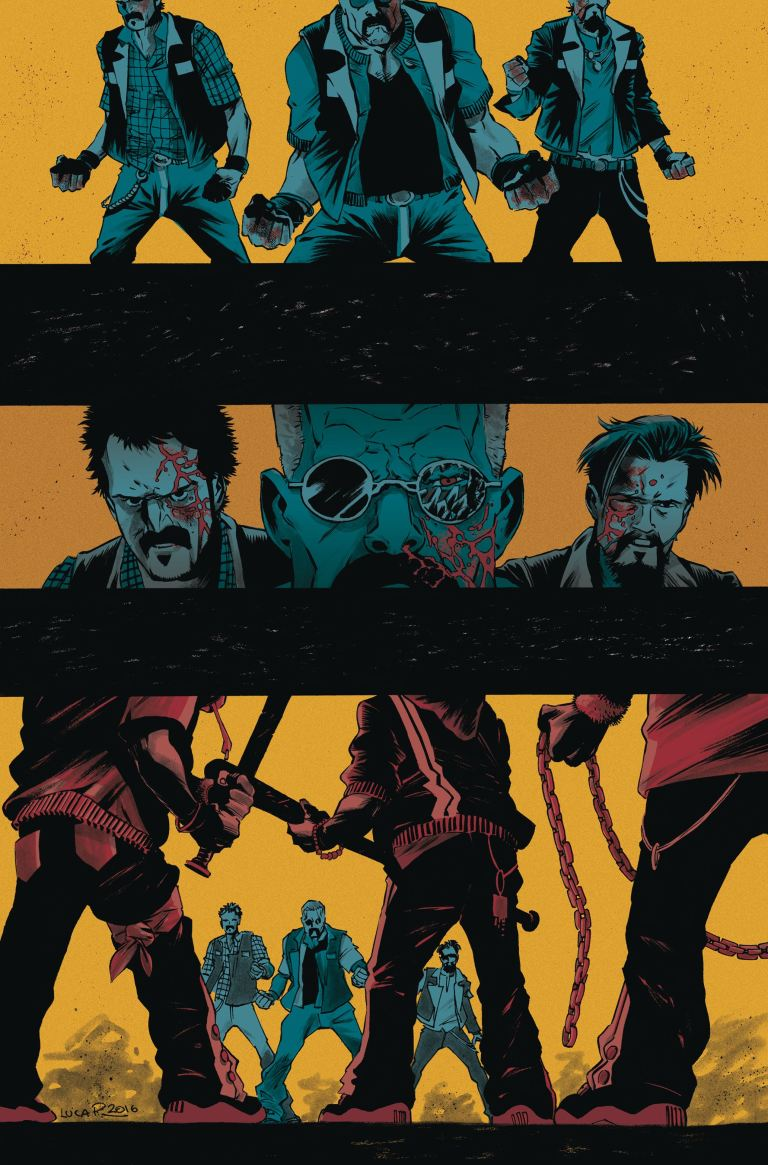 Sons Of Anarchy Redwood Original #11 (Cover A Luca Pizzari)