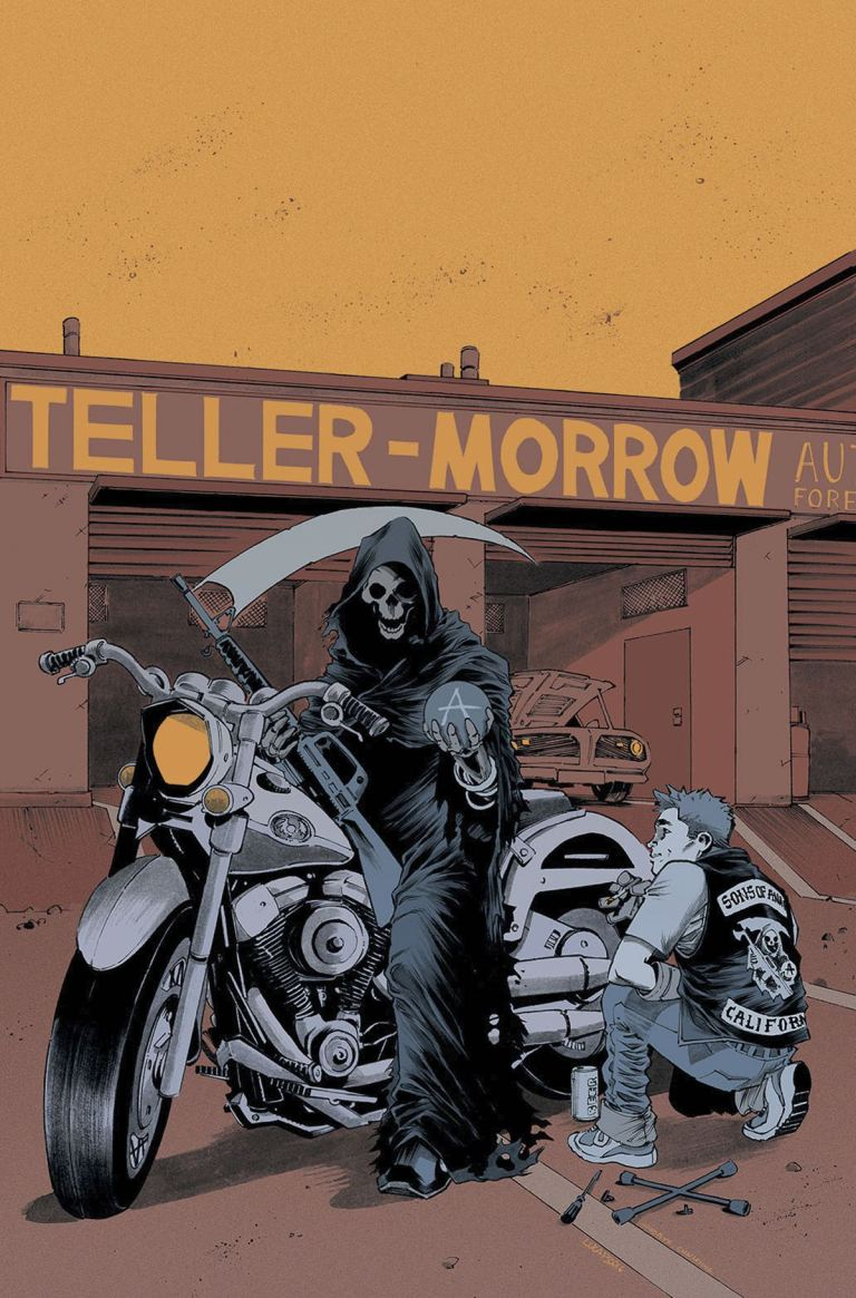 Sons Of Anarchy Redwood Original #12 (Cover A Luca Pizzari)