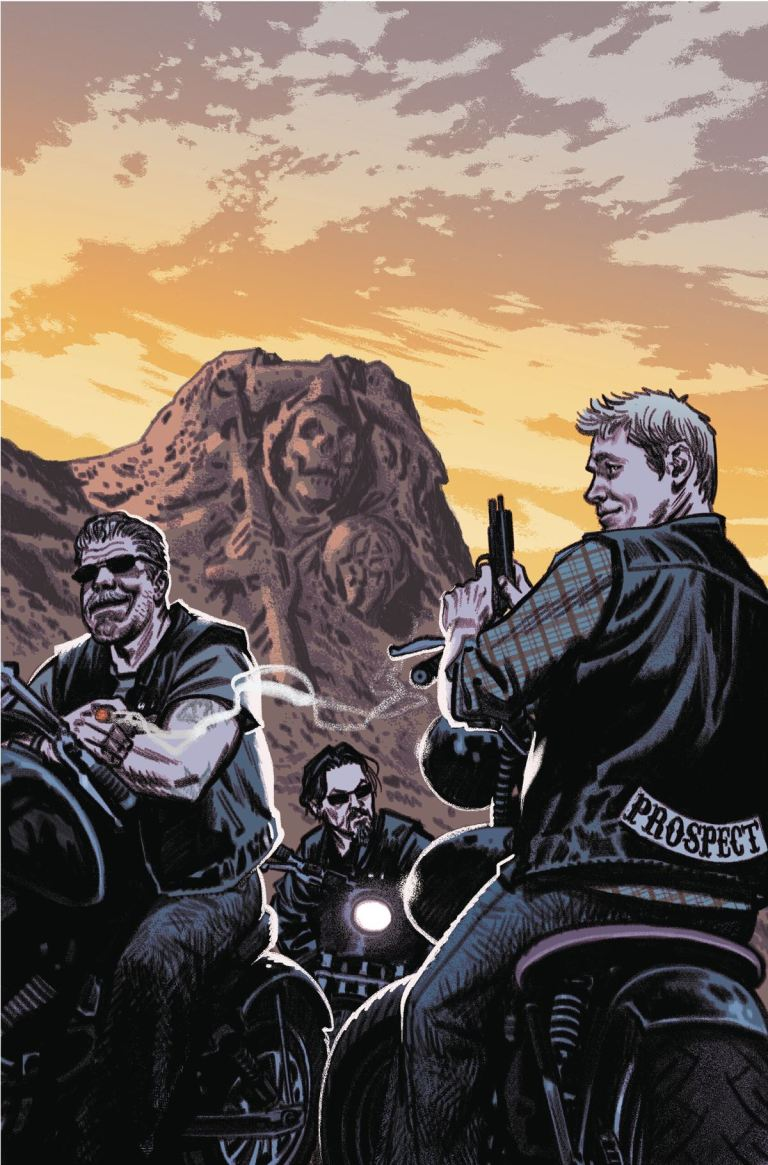 Sons Of Anarchy Redwood Original #5 (Cover B Greg Smallwood)