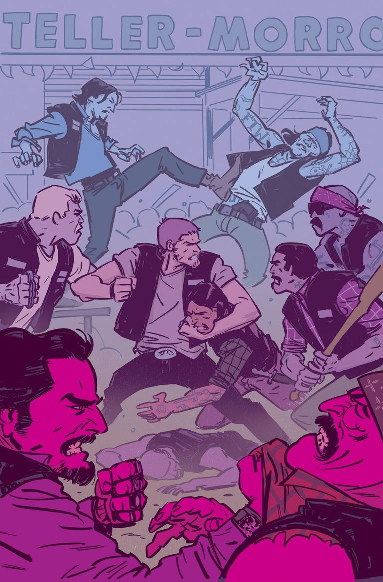 Sons Of Anarchy Redwood Original #6 (Cover A Brahm Revel)