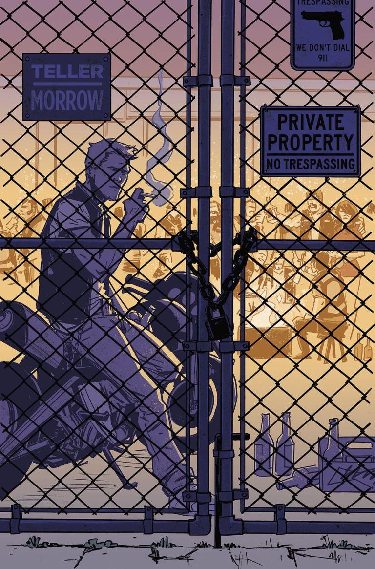 Sons Of Anarchy Redwood Original #8 (Cover B Brahm Revel)