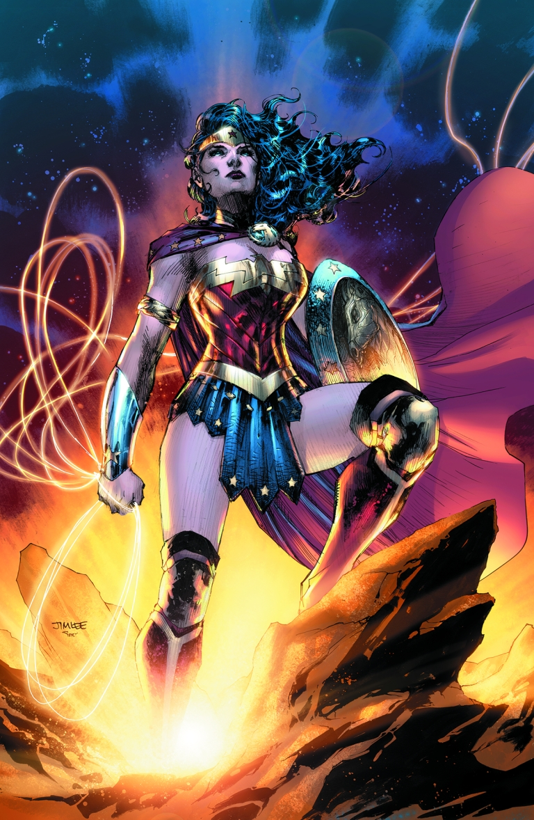 Wonder Woman 75th Anniversary Special #1 (Cover A Jim Lee)