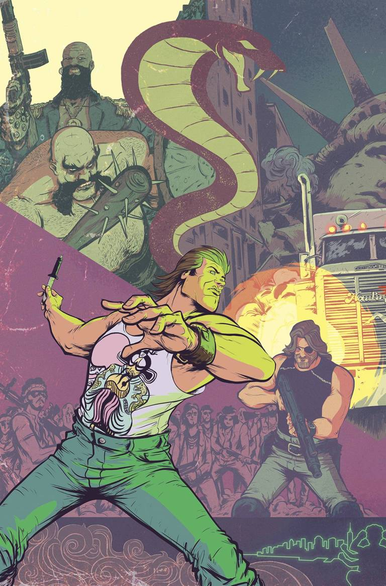 Big Trouble In Little China Escape From New York #1 (Cover A Daniel Bayliss)