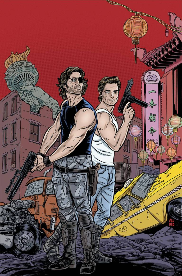 Big Trouble In Little China Escape From New York #1 (Cover B Michael Allred)
