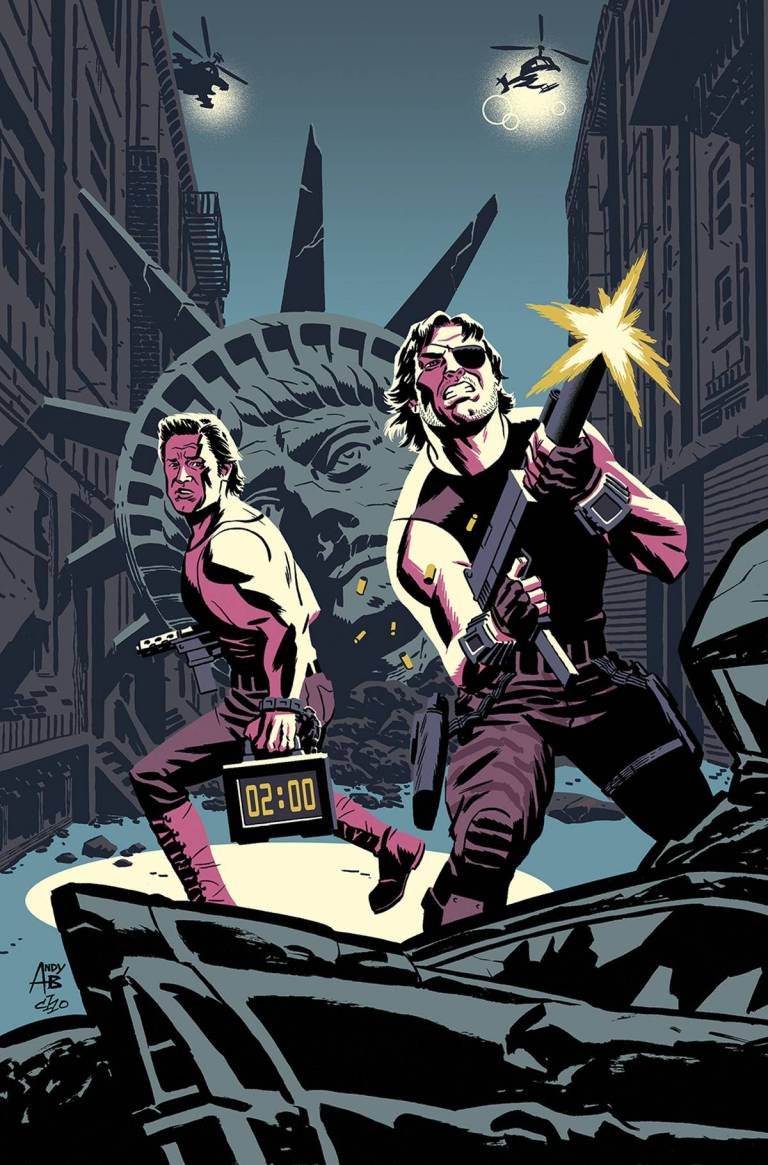 Big Trouble In Little China Escape From New York #1 (Cover C Andy Belanger & Michael Cho)