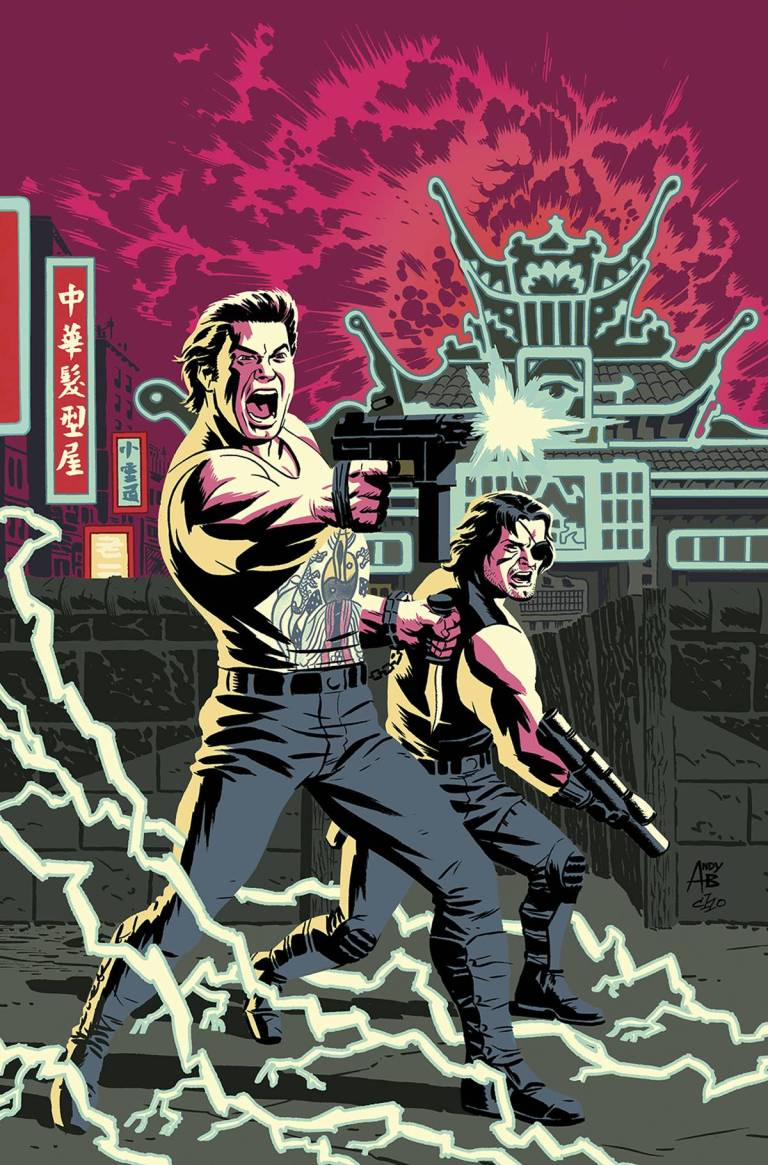 Big Trouble In Little China Escape From New York #1 (Cover D Andy Belanger & Michael Cho)