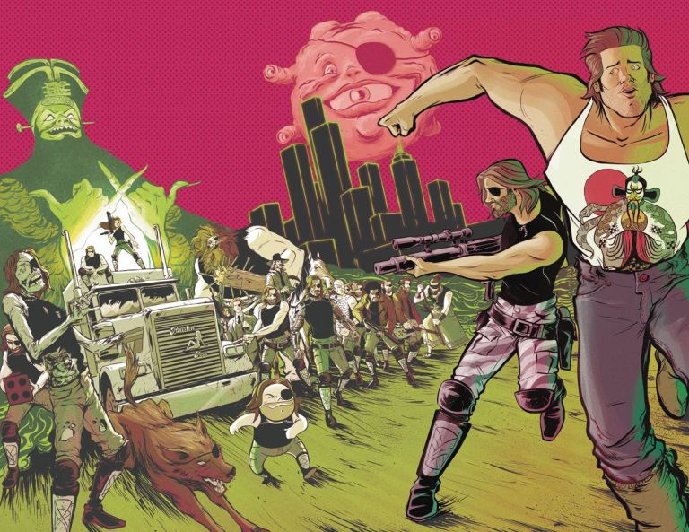 Big Trouble In Little China Escape From New York #3 (Cover A Daniel Bayliss)