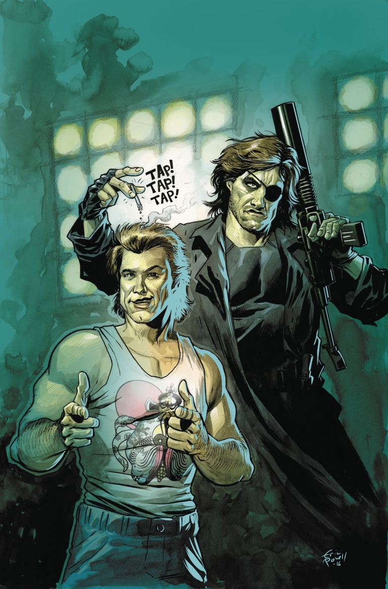 Big Trouble In Little China Escape From New York #3 (Cover B Eric Powell)