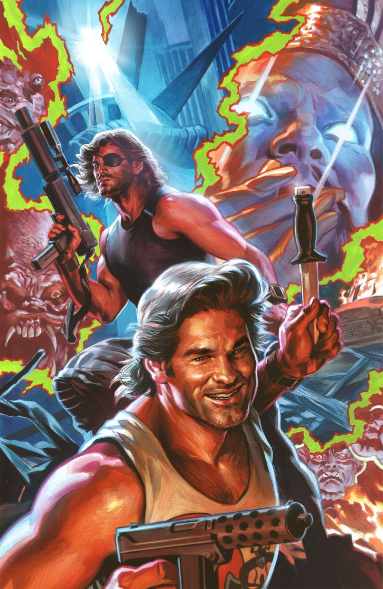 Big Trouble In Little China Escape From New York #4 (Cover B Felipe Massafera)