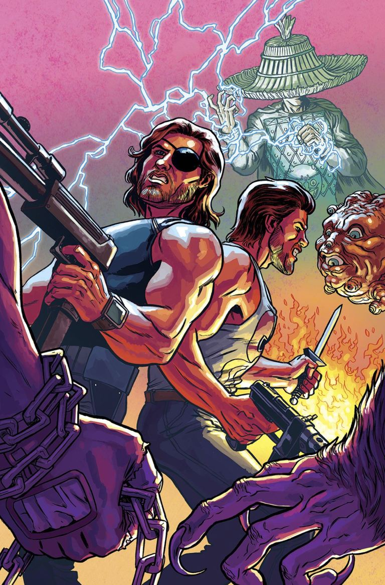 Big Trouble In Little China Escape From New York #6 (Cover B Ryan Browne)