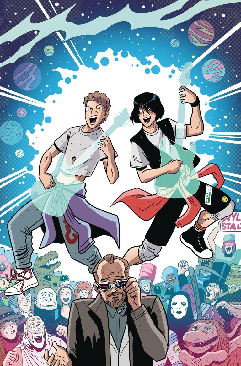 Bill And Ted Save The Universe #1 (Cover A Derek Charm)