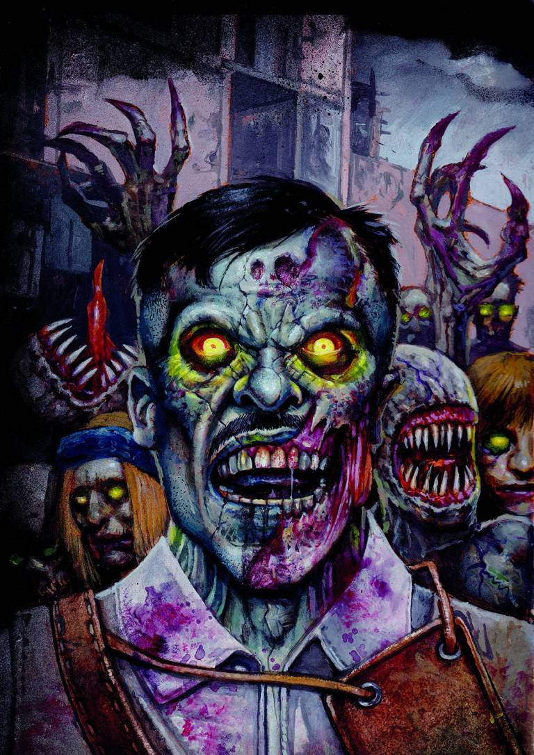 Call of Duty Zombies #1 (Simon Bisley Regular Cover)