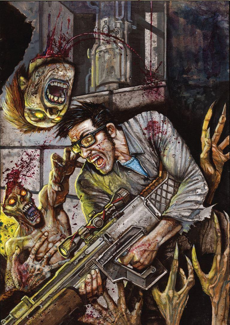 Call of Duty Zombies #3 (Simon Bisley Cover)