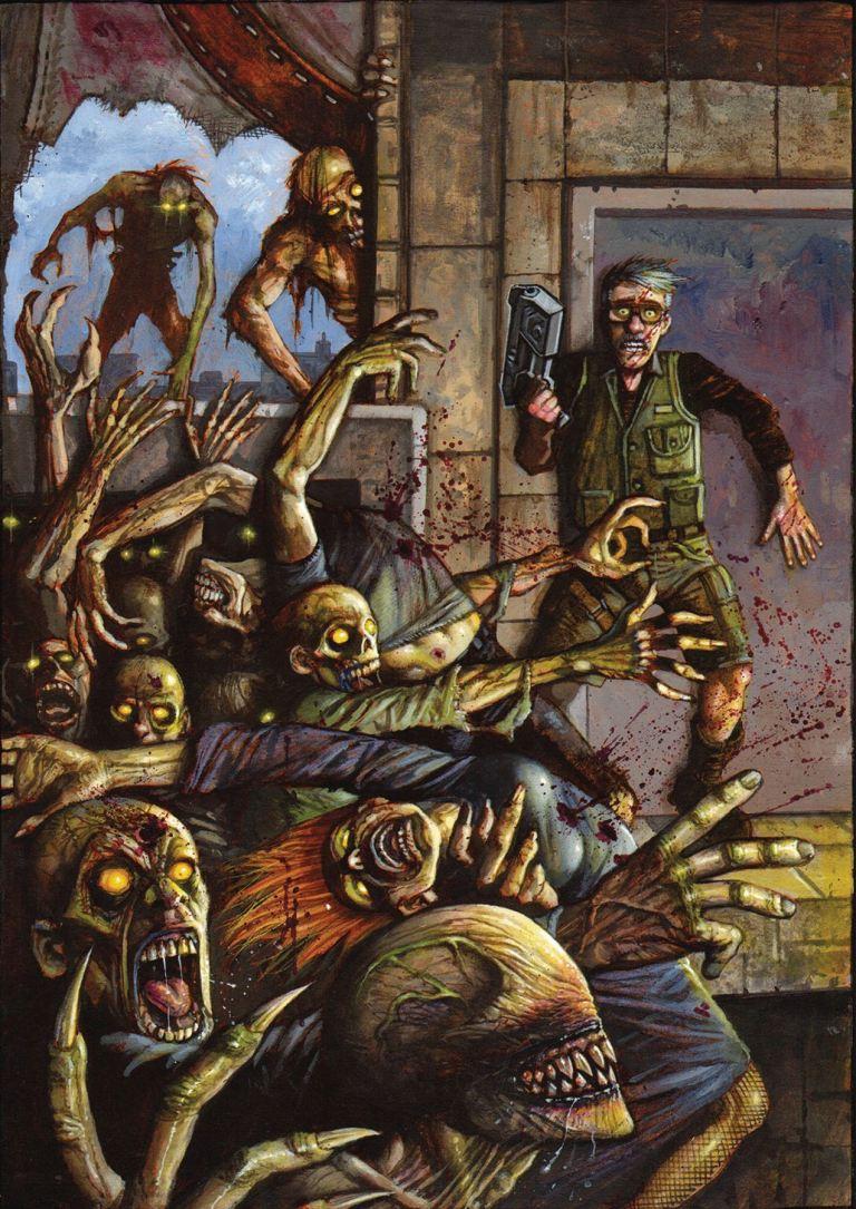 Call of Duty Zombies #4 (Simon Bisley Cover)