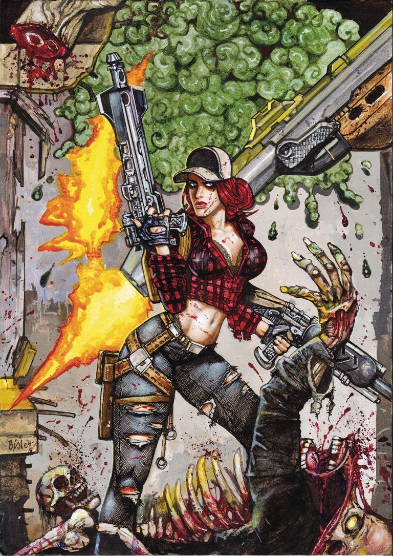 Call Of Duty Zombies #5 (Simon Bisley Cover)