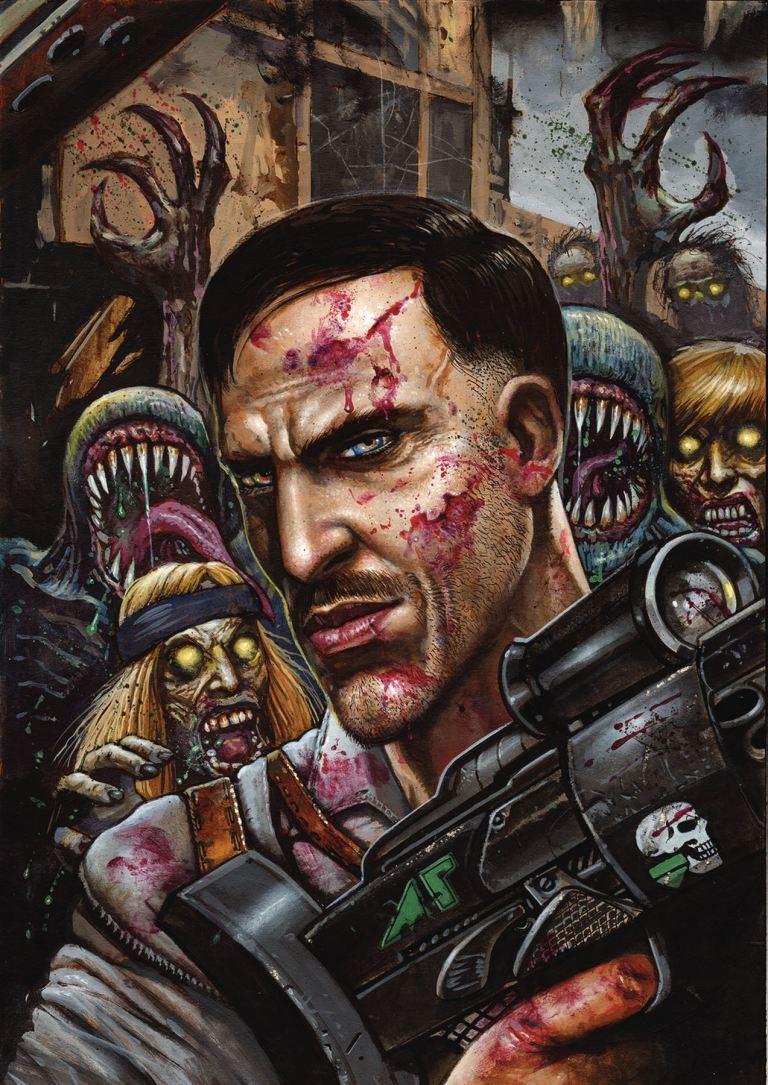 Call Of Duty Zombies #6 (Simon Bisley Cover)