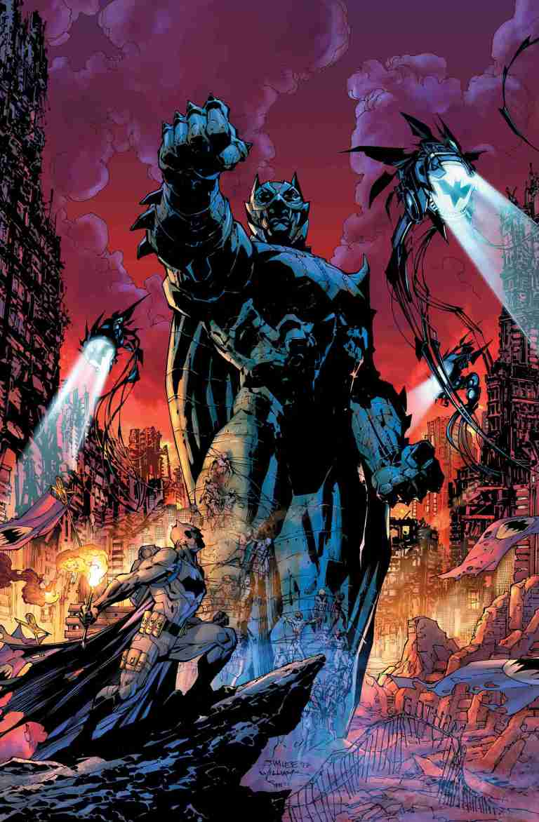 Dark Days The Forge #1 (Cover A Jim Lee & Scott Williams)