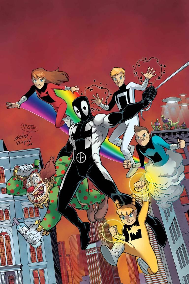 Deadpool Back In Black #2 (Of 5)(Salvador Espin Regular Cover)