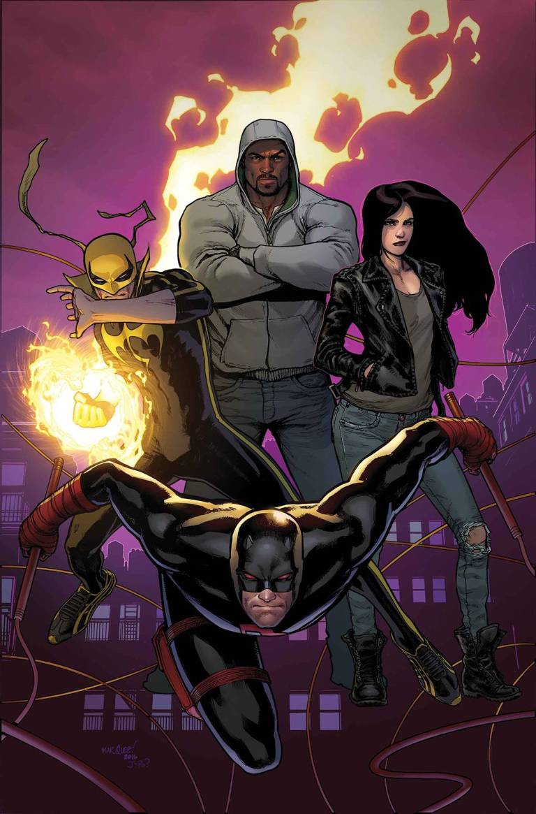 Defenders #1 (Cover A David Marquez)