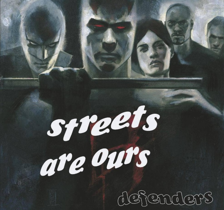 Defenders #1 (Cover G Alex Maleev Hip-Hop Variant)