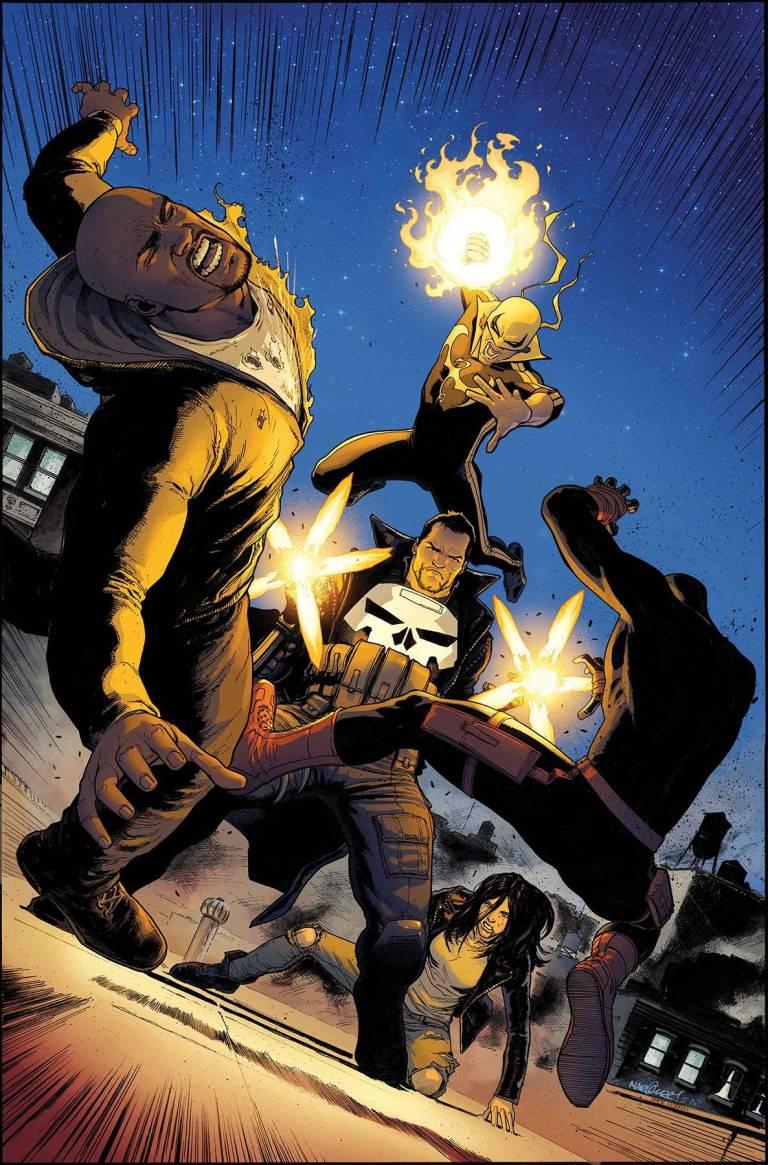 Defenders #3 (Cover A David Marquez)