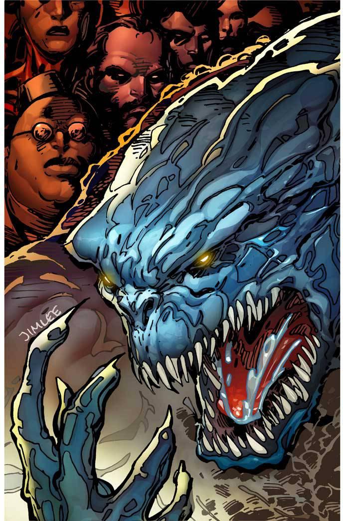 Defenders #3 (Cover C Jim Lee X-Men Trading Card Variant)