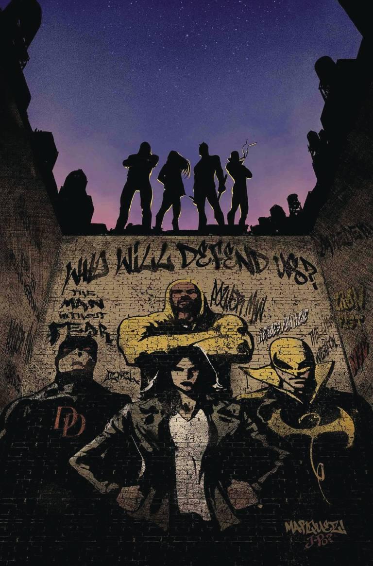 Defenders #4 (Cover A David Marquez)