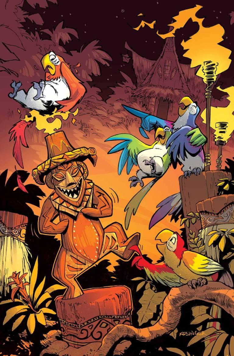 Enchanted Tiki Room #1 (Brian Kesinger Regular Cover)