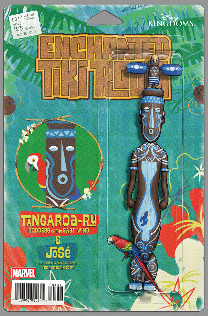 Enchanted Tiki Room #1 (John Tyler Christopher Action Figure Variant Cover)