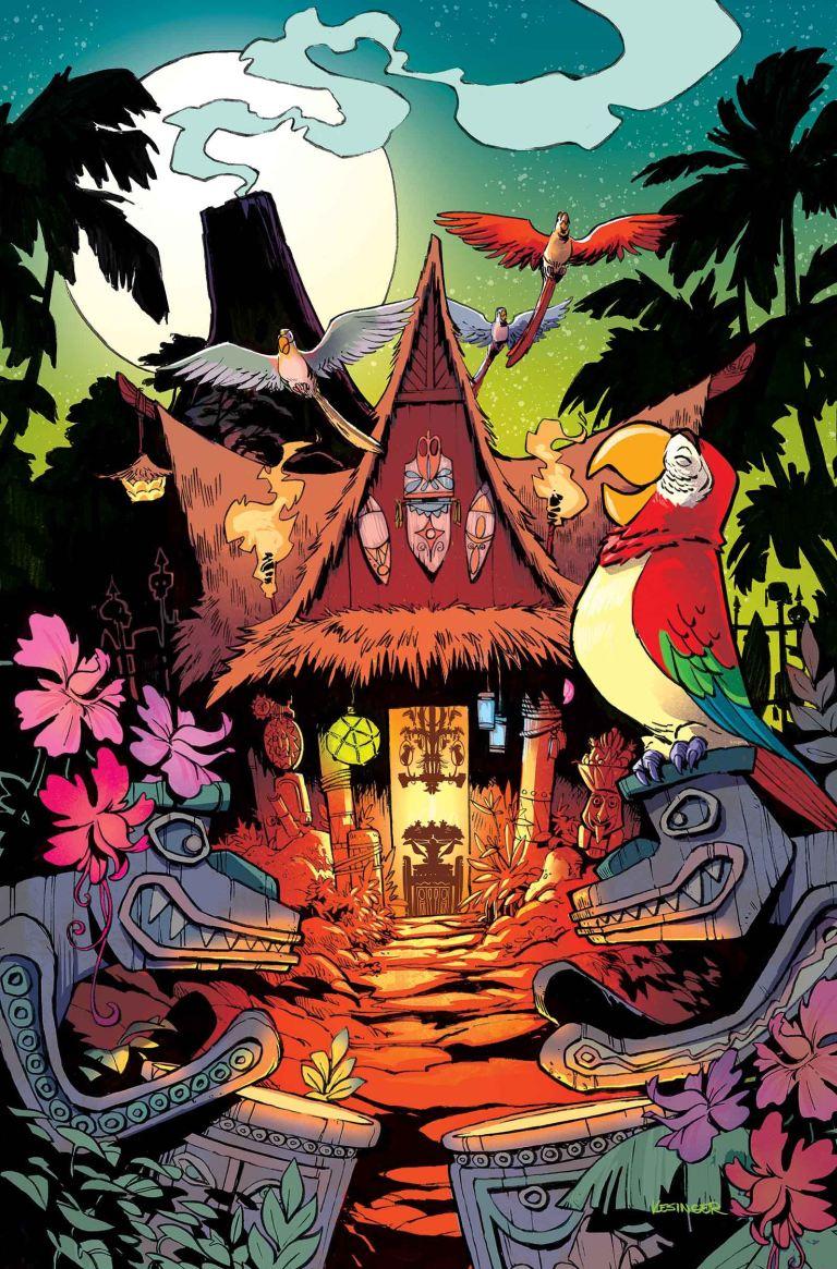 Enchanted Tiki Room #3 (Brian Kesinger Regular Cover)
