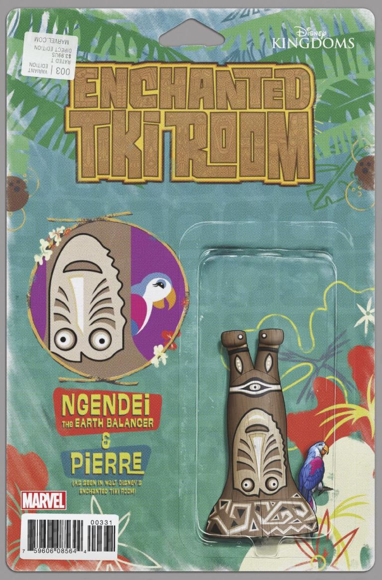 Enchanted Tiki Room #3 (John Tyler Christopher Action Figure Variant Cover)