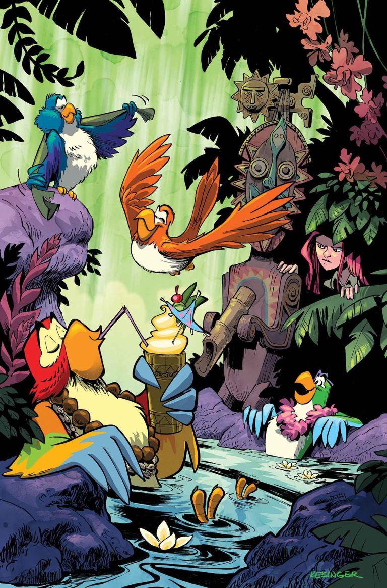 Enchanted Tiki Room #4 (Brian Kesinger Regular Cover)