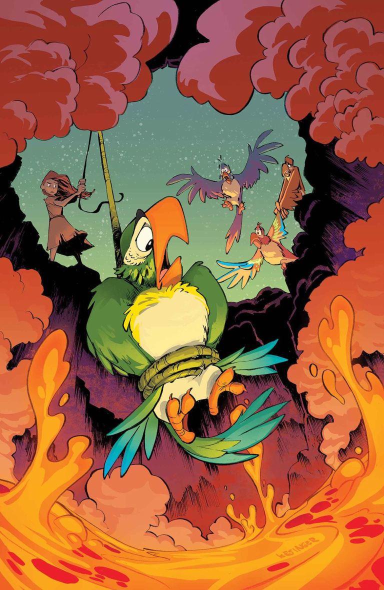 Enchanted Tiki Room #5 (Brian Kesinger Regular Cover)