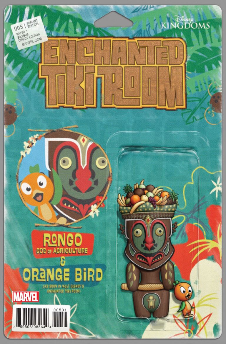 Enchanted Tiki Room #5 (John Tyler Christopher Action Figure Variant Cover)