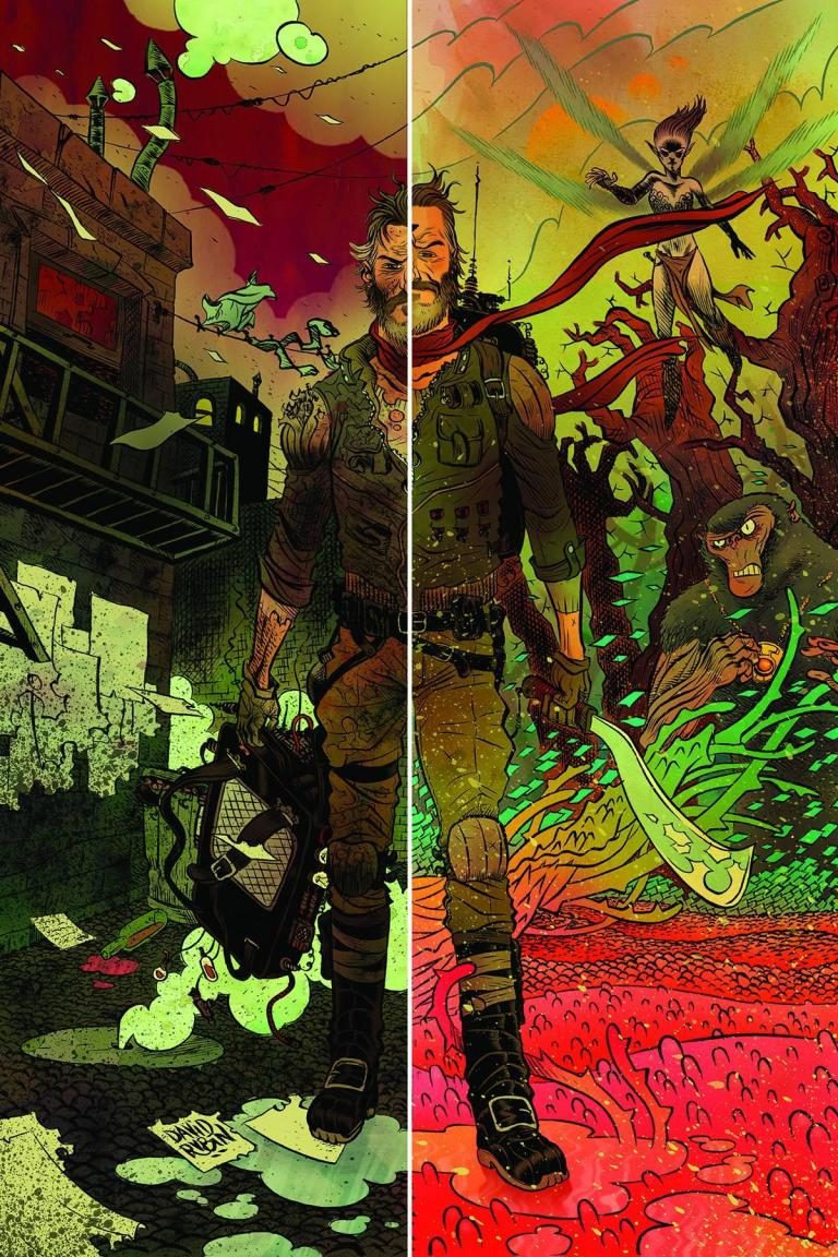 Ether #1 (Cover A David Rubin)
