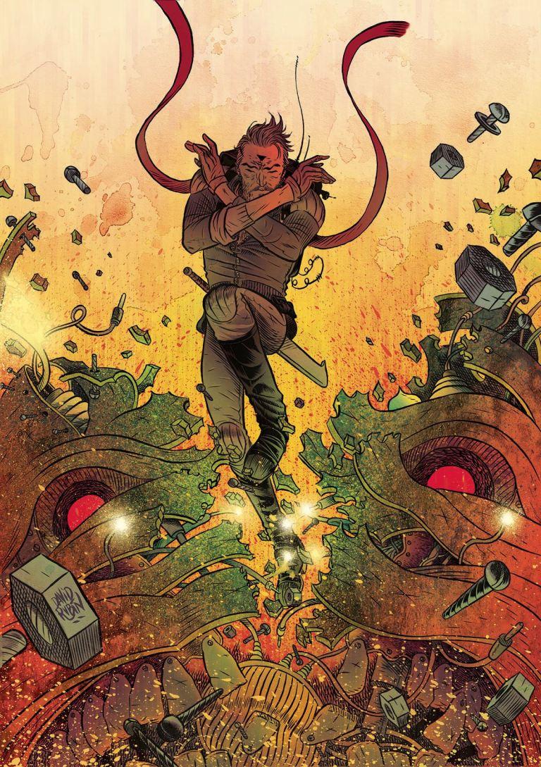 Ether #5 (David Rubin Cover)