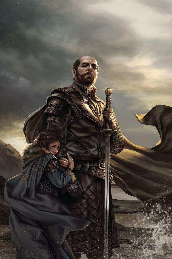Game Of Thrones A Clash Of Kings #1 (Cover G Magali Villeneuve Virgin Variant)