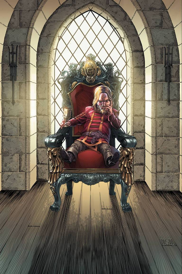 Game Of Thrones A Clash Of Kings #3 (Cover E Mike S. Miller Virgin Variant)